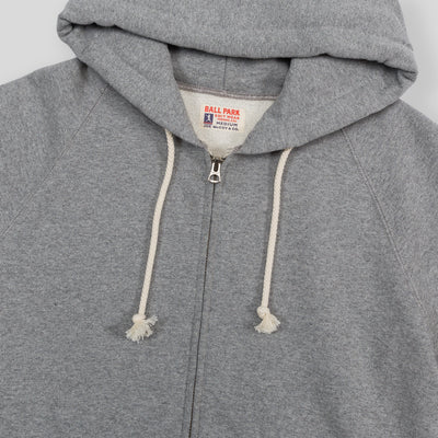 Joe McCoy Ball Park Full-zip Hoodie - Gray