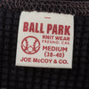 Joe McCoy Ball Park Long Sleeve Thermal Shirt - Black