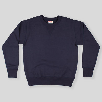 Joe McCoy Ball Park Crewneck Sweatshirt - Navy