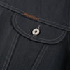 Banks Jacket - Powderville Selvedge Grey Denim