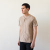 Baseball Shirt - Camel Flannel