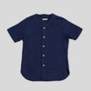 Baseball Shirt - Navy Flannel