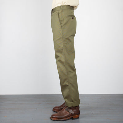 Service Chino - Olive Bedford Cord
