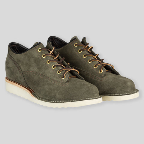 Bigum Shoe - Waxed Sage Roughout