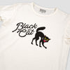 Black Cat Tubular Knit Tee