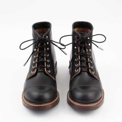 "Boot Lace - 54"" Folsom Black"