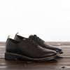 Braided Oxford - Black Leather