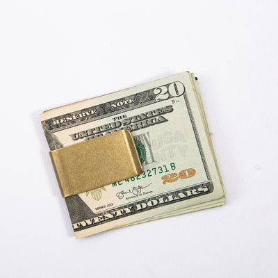 Kobashi Studio Brass Money Clip - Standard & Strange