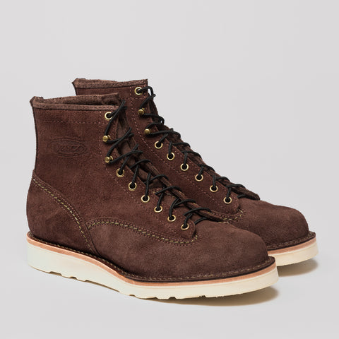 S&S X Wesco Brown Bender Boot