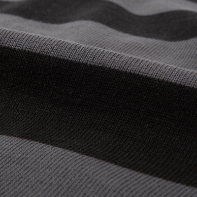 Buco Heavy Stripe Racing Jersey - Gray/Black