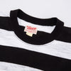 Buco Stripe Tee S/S - White/Black BC19005