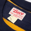 Buco Stripe Tee S/S - Yellow/Navy BC19005