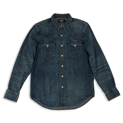Buffalo Western Shirt - Dark Wash