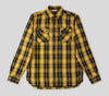 Crosscut Flannel Shirt - Yellow Plaid