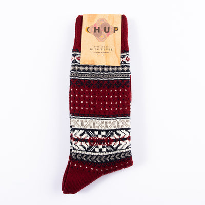 Ceret Sock - Crimson
