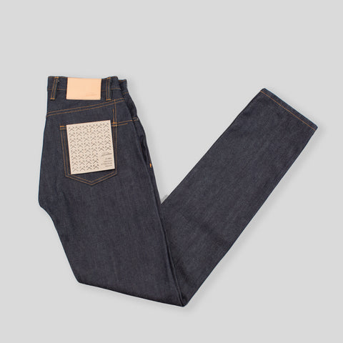 CT-100X - Classic Tapered - Raw Indigo Selvedge