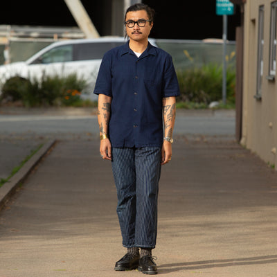 Camp Shirt - Indigo Cotton