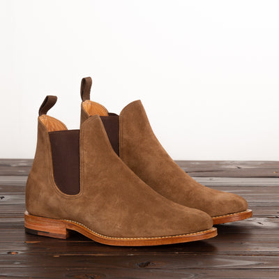 Chelsea Boot - Snuff Suede - 2050