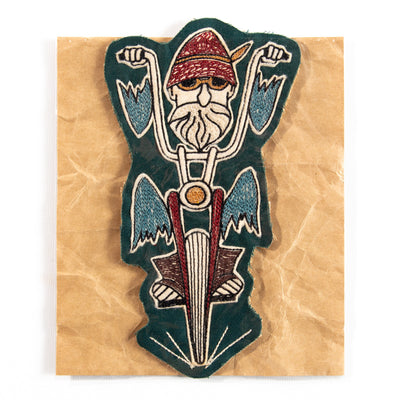 Chopper Man Patch
