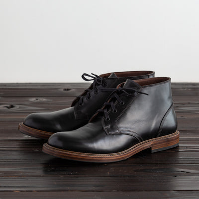 Steadfast Chukka Boot - Black French Calf