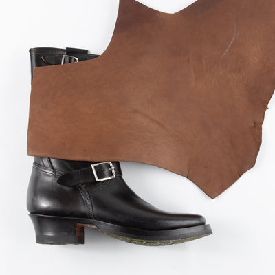[Deposit for October 2021 Delivery] Engineer Boot - Natural Horsebutt - CN Wide Last