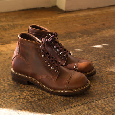 [Pre-order for July 2020 delivery] Combat Boots - Timber CXL