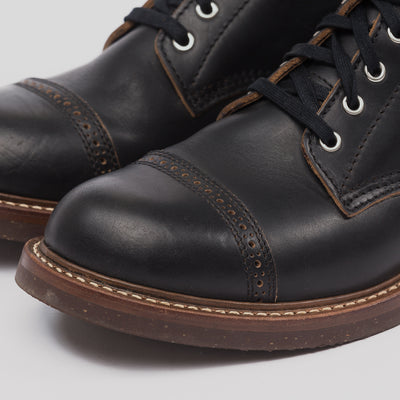 [Pre-order for January 2019 delivery] Combat Boots - Black CXL