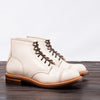 [Pre-order for May 2020 delivery] Combat Boot - Natural White Shadow Shell Cordovan