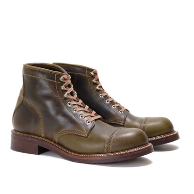 [Pre-order for July 2019 delivery] Combat Boots - Olive CXL