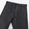 "Continental Trousers - ""Le Parisien"" Mock Twist Stripe"