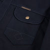 Copeland Slim Fit Jacket - Indigo/Black Selvedge