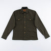 Copeland Slim Fit Jacket - Dark Green Duck Canvas
