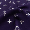 Cross Bandanna - Navy
