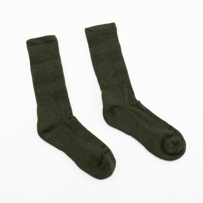Cushioned Boot Sock - Foliage Green