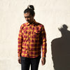 Dawson Shirt - Rust Heavyweight Flannel
