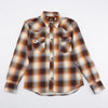 Dollard Shirt - Brown/Rust/White/Blue Flannel
