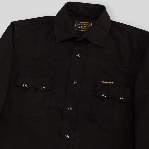 Dollard Shirt - Black Canvas