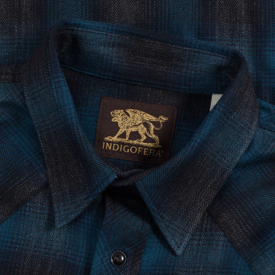 Dollard Shirt - Blue/Black Flannel