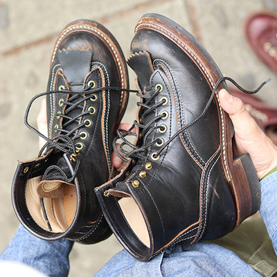[Pre-order for April 2019 delivery] Donkey Puncher Boots - Black CXL