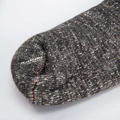 Double Face Socks - Charcoal