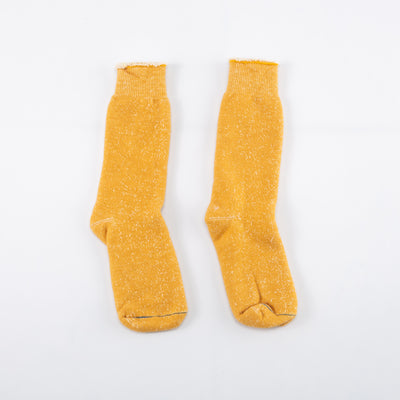 Double Face Socks - Yellow