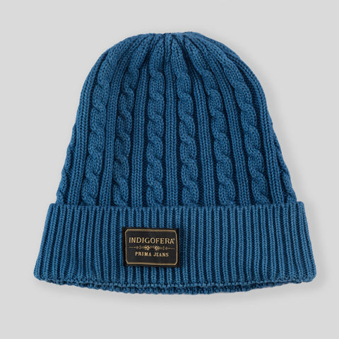 Drake Cotton Knit Watchcap - Woad