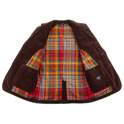 Drake's Games Coat - Brown Corduroy - Standard & Strange