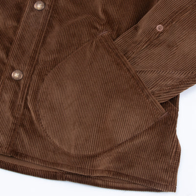 Eagle Rising - Brown Corduroy / Cognac Leather