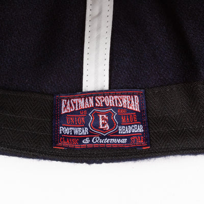 Eastman Leather Clothing ELMC Navy Wool Ball Cap - Standard & Strange