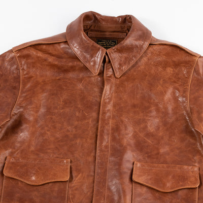 Eastman Leather Clothing Type A-2 Leather Jacket - Rough Wear 1401P - Standard & Strange