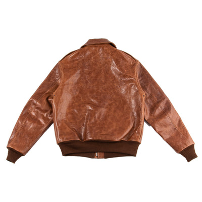 Type A-2 Leather Jacket - Rough Wear 1401P
