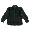 Eat Dust Vicious Check CPO Shirt - Navy/Green - Standard & Strange