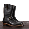 [Pre-order for November 2020 delivery] Engineer Boots - Black Horween CXL