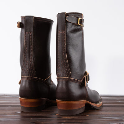 [Pre-order] Limited Engineer Boot - Brown Waxed Flesh